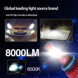 8000lm rotes Selbst-LED Hauptlicht der Birnen-LED des Auto-12V 24V H4