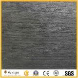 自然な酸性染料で色落ちする高貴な木の黒、黒檀は壁のための大理石のタイルを並べる