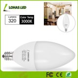 China Top LED Supplier E12 4.5W Candle Light Bulb