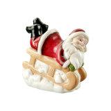 De Gift van Kerstmis van de Ongehoorzame Kerstman voor de Decoratie van Kerstmis