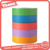 Washi de cinta de papel coloreado de acrílico al por mayor, de cinta de papel