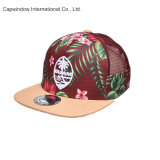 Novo tecido Floral Snapback Sport Hat para Design de logotipo personalizado (65050099)