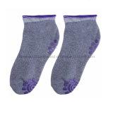 Umweltfreundliche kundenspezifische Trampoline-rutschfeste Griff-Socken