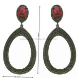 Belle fête Bijoux Gemstone pendaison Earrings (KE3190)