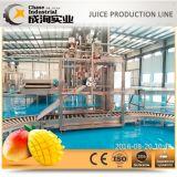 Ensemble de la ligne de machine de traitement des concentrés de jus de mangue.