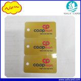3 acima dos cartões plásticos combinados do Tag chave de cartão do PVC da sociedade