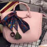 中国の製造業者の絹のスカーフSh168が付いている直接工場女性のハンドバッグの学生かばん袋