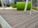 Pavimento esterno solido di Decking della Anti-Crepa facile WPC di pulizia