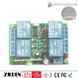 12V 2 Canais interruptor remoto sem fio com o código de aprendizagem