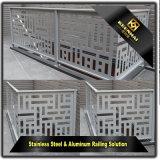 Pasamano de interior de la escalera del acero inoxidable de la decoración para el estilo simple
