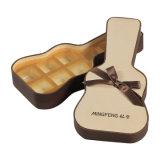 Bela decoração elegante caixa de chocolate de papelão texturizado