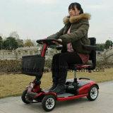 Het Goedkope Elektrische Vierwielige Elektrische voertuig van uitstekende kwaliteit van de Autoped van de Mobiliteit voor Gehandicapten