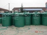 PPは草原の酸蓄電池のための貯蔵タンクの二重層のPPによって並べられたタンクを並べた