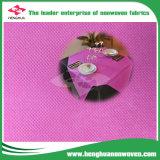 Nonwoven de alta qualidade para o Tablecloth descartável do restaurante com 100% PP