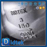 Didtek CF8m los extremos de la brida Válvula antirretorno de acero inoxidable