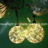 크리스마스 훈장이 도매 LED 디스코 LED 끈에 의하여 점화한다