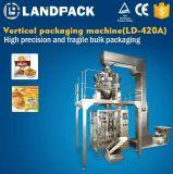 I cracker del gamberetto di alta precisione/hanno soffiato macchina per l'imballaggio delle merci di riempimento di sigillamento dell'alimento