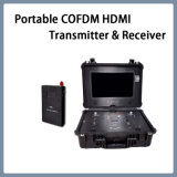 Cofdm 휴대용 소형 HDMI 무선 영상 전송기 및 수신기 LCD