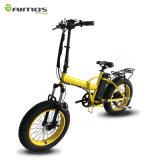 [250و] [36ف] 20 '' كثّ مكشوف [ألومينوم لّوي] [شنس] يطوي درّاجة كهربائيّة