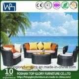 Neue Entwurfs-Balkon-Sofa-gesetzte Rattan-Möbel-im Freienmöbel-Sofa (TG-040)
