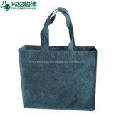 環境に優しいカスタム灰色のフェルトのショッピングトートバックのフェルトのハンド・バッグ
