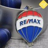 Kundenspezifischer weicher Decklack-Ehrenlaufring-Baseball-Militärereignis-Medaille mit Farbband