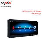 Ugode 12,3 pollici 1920 720 Android 10.0 GPS Multimedia per auto per Schermo Glc radio Benz C W205 4+64G
