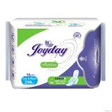 Señora almohadilla sanitaria día utilizar algodón estéril almohadilla sanitaria para mujeres