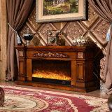 Muebles eléctricos del hotel de la chimenea del calentador europeo del soporte de la TV (334S)