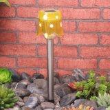 クリスマスの装飾の太陽花様式の庭の棒ライト