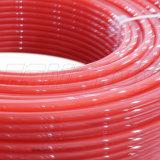 床下から来るヒートパイプのためのプラスチックPexまたはPERTの酸素の障壁の管