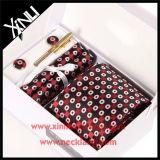 Laço tecido seda da caixa de Handmamde 100% para homens