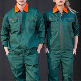 Uniforme classica del lavoro del Workwear del vestito dell'operaio della caldaia degli uomini del carpentiere di disegno