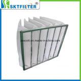 Mittlere Leistungsfähigkeits-Taschen-Filter-Luft-Polyester-Filtertüte