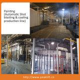 Cuatro pilares de equipamientos de taller de diseño con función de alineación (412A)