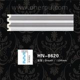 Полиуретан Cornice PU литьевого формования для литьевого формования панели потолка декор Hn-8620