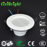 7W Downlight LED blanco cálido con Ce RoHS