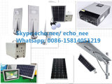 100W Material do corpo da lâmpada de alumínio Rua Solar Luz, Luz do Painel Solar