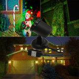 Proyector de la luz de la Navidad del laser al aire libre con la ducha alejada de la proyección de Staticstar para el jardín de la casa del partido