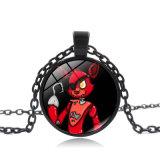 フレディの宝石の時間吊り下げ式のネックレスのフレディFazbearの宝石類Cosplayの5夜