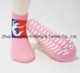 Kundenspezifische Antibeleg-Kinder springen Trampoline-Socken