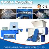 Hölzerner Ladeplatten-Reißwolf/Plastikzerquetschenmaschinen-/einzelne Welle-Plastikreißwolf-Maschine