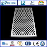 Perforated алюминиевая панель плакирования
