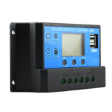 12V/24V 10A는 태양 책임 관제사 Cm20K-10A USB-5V/3A Light+Time 통제 이중으로 한다