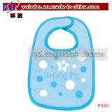第1最初誕生会の供給の男の子の女の子の赤ん坊の胸当ての胸当て(P1020)