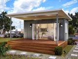 La casa geodésica del nuevo diseño substituye la casa ensanchable del envase