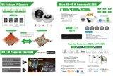 2.8-12mmの手動ズームレンズ(MT20)が付いている1つのCCTVの保安用カメラに付きソニー2.1MP Starvis HD 4つ