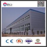 Gruppo di lavoro montato facile della costruzione prefabbricata della struttura d'acciaio