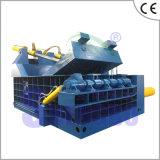 유압 전력 철과 비철 재생 금속 포장기