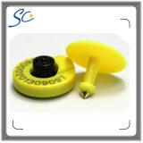 Marque d'oreille animale imprimable d'IDENTIFICATION RF de qualité